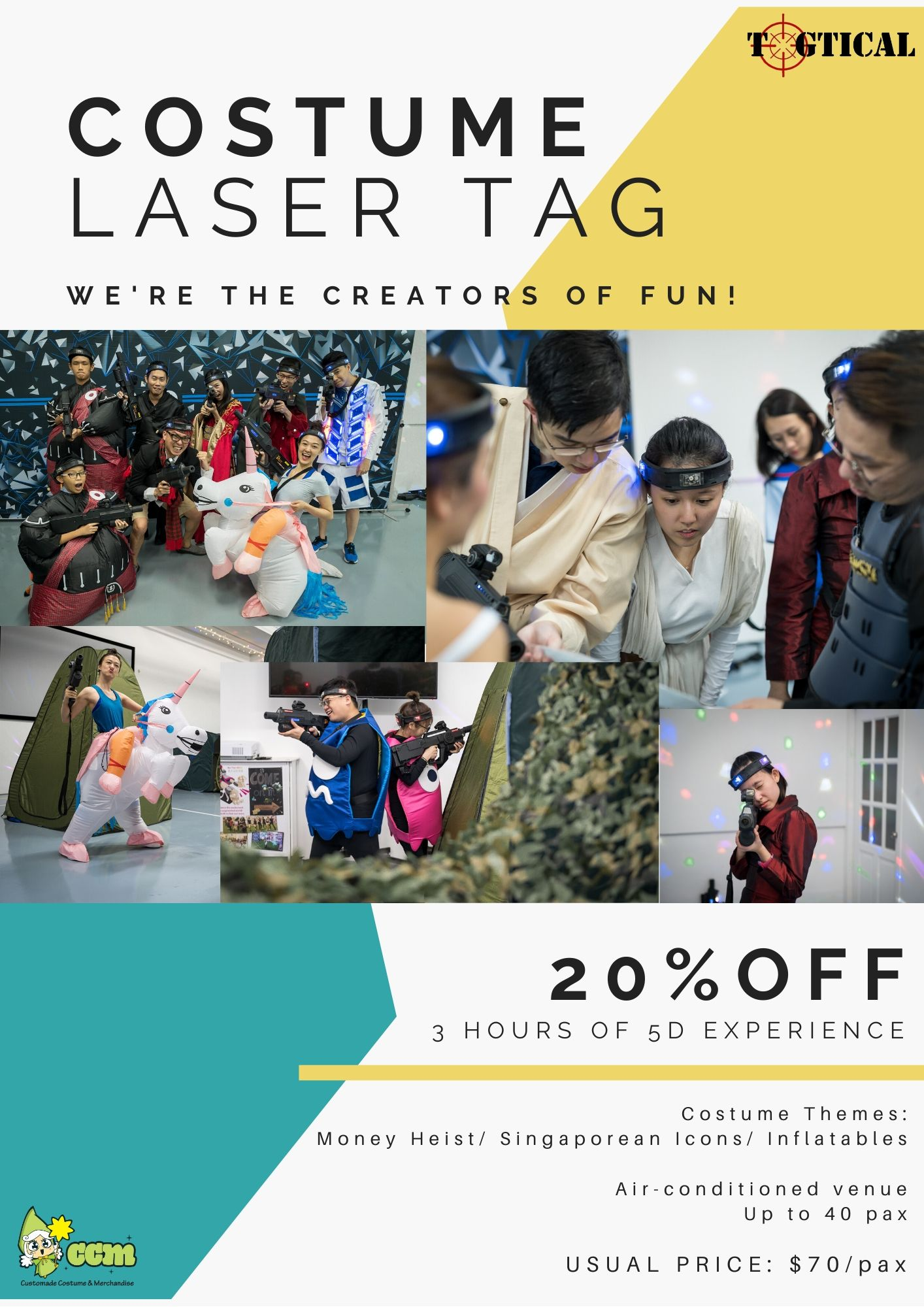 costume laser tag